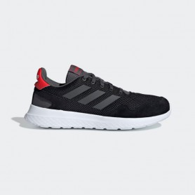 A4499 Men Sport Inspired adidas Archivo Shoes-Core Black/Grey Six/Active Red