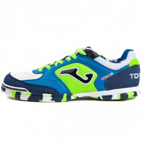 J4504 รองเท้าฟุตซอล Joma Top Flex IN-ROYAL BLUE