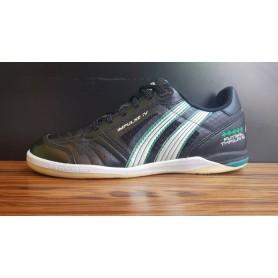 PA4537 รองเท้าฟุตซอล Pan IMPULSE IV KANGAROO- สีดำ(หนังจิงโจ้)