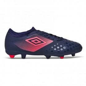 U0447 รองเท้าฟุตบอล รองเท้าสตั๊ด UMBRO UX Accuro II Club HG-สีม่วง