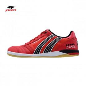 PA4184 รองเท้าฟุตซอล Pan IMPULSE IV KANGAROO- สีแดง(หนังจิงโจ้)
