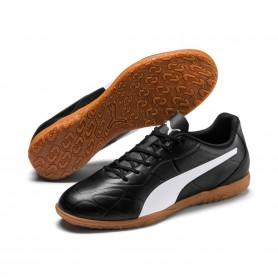 P4566 รองเท้าฟุตซอล PUMA Monarch IT-Black/White
