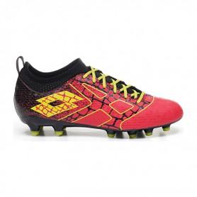 L4595 Football Boots LOTTO MAESTRO 700 II FG-CALYPSO PINK/ACACIA GREEN/ALL BLACK