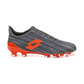 L4597 Football Boots LOTTO SOLISTA 700 III FG-COOL GRAY /ORANGE FLUO/GRAVITY TITAN