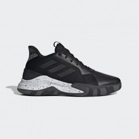 A4576 Basketball Shoe adidas RUNTHEGAME-Core Black/Grey Six