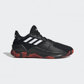A4601 Basketball Shoe  adidas STREETFLOW-Core Black/Cloud White/Active Red