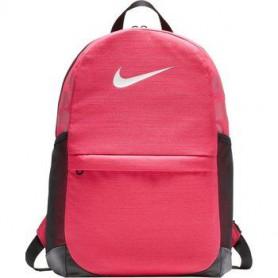 N0582 กระเป๋าเป้สะพายหลังสำหรับเด็ก Nike Brasilia - rush pink/black/white