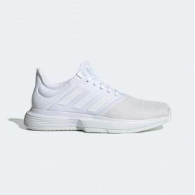 A4606 Women's Tennis adidas GameCourt-Cloud White/Blue Tint