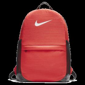 N0583 กระเป๋าเป้สะพายหลังสำหรับเด็ก Nike Brasilia - UNIVERSITY RED / BLACK / WHITE