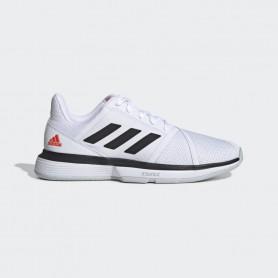 A4607 Men's Tennis adidas CourtJam Bounce-Cloud White/Core Black/Light Solid Grey