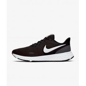 N4616 รองเท้าวิ่ง ผู้หญิง Nike Revolution 5-Black/Anthracite/White