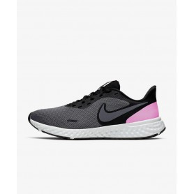 N4617 Running Shoe Nike Revolution 5-Black/Dark Grey/Pure Platinum/Psychic Pink