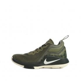 N0585 รองเท้าบาสเก็ตบอลเด็ก NIKE Lebron Witness II-Medium Olive