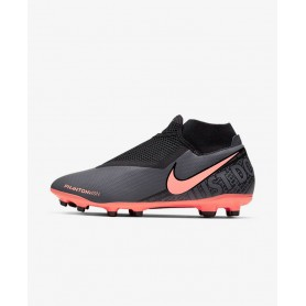 N4641 Football Boot Nike Phantom Vision Academy Dynamic Fit MG-Dark Grey/Black/Bright Mango