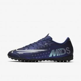 N4651 รองเท้าฟุตบอล 100ปุ่ม สนามหญ้าเทียม Nike Mercurial Vapor 13 Academy MDS TF- Blue Void