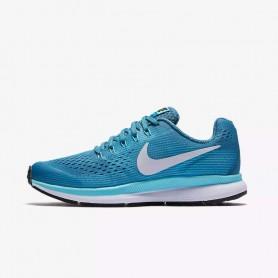 N0589 รองเท้าวิ่งเด็กหญิง Nike Nike Zoom Pegasus 34 GS-Noise Aqua/White