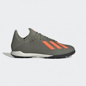 A4668 Football Boots ADIDAS X 19.1 TF -Legacy Green/Solar Orange/Chalk White