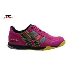 PA0055 รองเท้าฟุตซอล Pan IMPULSE 3 - Pink/Yellow (ตัวทอป)