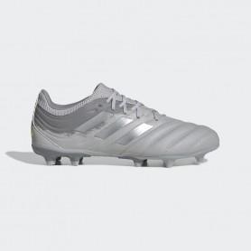 A4681 Football Boots ADIDAS COPA 20.3 FG-Grey Two/Silver Metallic/Solar Yellow