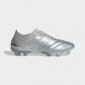 A4683 รองเท้าฟุตบอล รองเท้าสตั๊ด ADIDAS Copa 20.1 FG - Silver Metallic/Silver Metallic/Solar Yellow