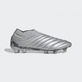 A4684 รองเท้าฟุตบอล รองเท้าสตั๊ด ADIDAS COPA 20+ FG -Silver Metallic/Silver Metallic/Solar Yellow