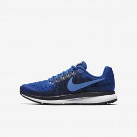 N0592 รองเท้าวิ่งเด็ก Nike Zoom Pegasus 34 -Hyper Royal