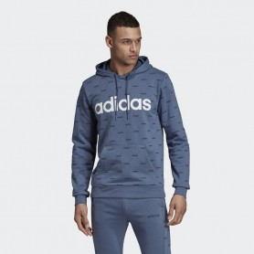A4691 adidas Linear Graphic Hoodie-Tech Ink/Legend Ink