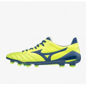 M4711 Football Boots MIZUNO MORELIA NEO II JAPAN -Yellow/Navy