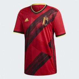 A4723 Men Football ADIDAS Belgium Home Jersey 2020-Collegiate Red