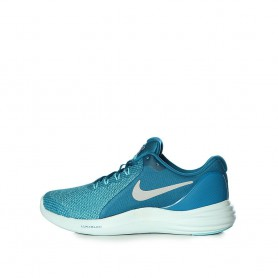 N0595 รองเท้าวิ่งเด็กผู้หญิง Nike Lunar Apparent GS-Green Abyss