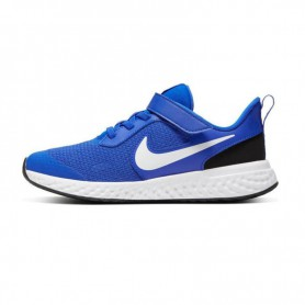 N4753 Childrens Trainers Shoes NIKE Revolution 5-Blue/White