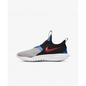 N4755 Big Kids' Running Shoe Nike Flex Runner Rebel-Black/Anthracite/Light Aqua/Black