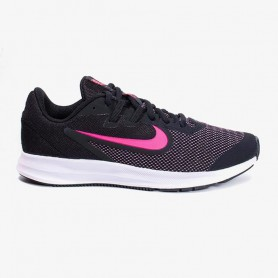 N4758 Kids Running Shoes Nike Downshifter 9-Black/Hyper Pink/White