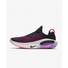 N4773 Men's Running Shoe Nike Joyride Run Flyknit-Black/Anthracite/Pink Blast/Black