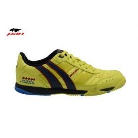 PA0056 รองเท้าฟุตซอล Pan IMPULSE 3 - Yellow/Blue (ตัวทอป)