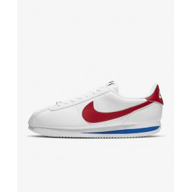 N4784 Shoe Unisex Nike Cortez Basic-White/Varsity Royal/Varsity Red