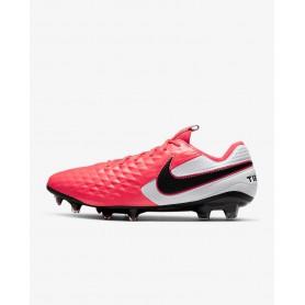 N4796 Football Boots Nike Tiempo Legend 8 Elite FG-Laser Crimson/Black/White