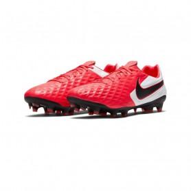 N4799 รองเท้าสตั๊ด รองเท้าฟุตบอล Nike Tiempo Legend 8 Pro FG-Laser Crimson/White