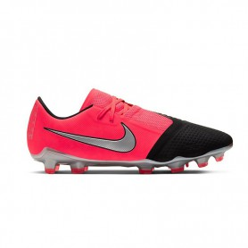 N4818 Football Boot Nike Phantom Venom Pro FG-Laser Crimson/Metallic Silver/Black
