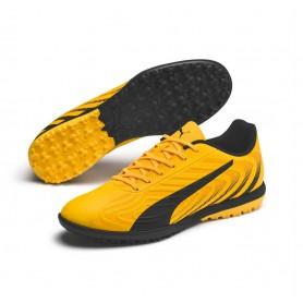 P4829 Football Boot PUMA ONE 20.4 TT-YELLOW/Puma Black/Orange