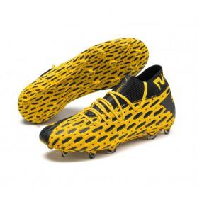 P4830 Football Boot PUMA FUTURE 5.1 NETFIT FG/AG-ULTRA YELLOW/Puma Black