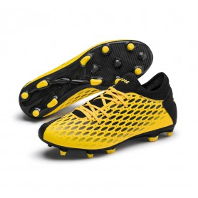 P4831 Football Boot PUMA FUTURE 5.4 NETFIT FG/AG-ULTRA YELLOW/Puma Black