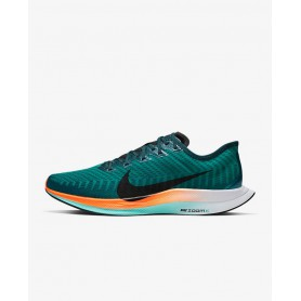 N4833 Men's Running Shoe Nike Zoom Pegasus Turbo 2-Neptune Green/Midnight Turquoise/Hyper Crimson/Black