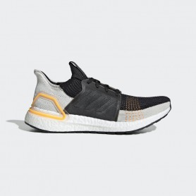 A4861 Men Running adidas Ultraboost 19-Trace Cargo/Raw White/Solar Red