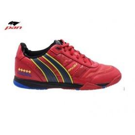 PA0057 รองเท้าฟุตซอล Pan IMPULSE 3 - Red/Blue (ตัวทอป)