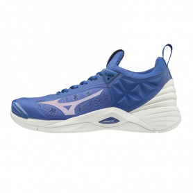 M4767 volleyball shoes Mizuno WAVE MOMENTUM-Blue/White
