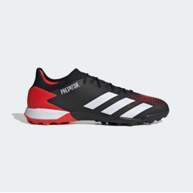 A4897 Football Boots ADIDAS Predator 20.3 TF -Core Black/Cloud White /Active Red