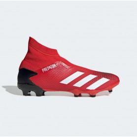 A4898 Football Boots ADIDAS Predator 20.3 FG-Active Red/Cloud White/Core Black