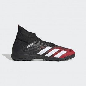 A4899 Football Boots ADIDAS Predator 20.3 TF -Core Black/Cloud White/Active Red