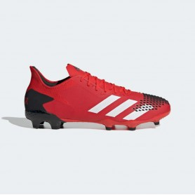 A4902 Football Boots ADIDAS Predator 20.2 FG-Active Red/Cloud White/Core Black
